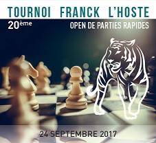 20eme Tournoi FRANCK L'HOSTE – Créteil 2017