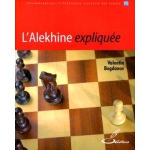 Couverture d'ouvrage: L'Alekhine expliquée
